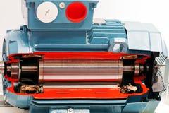 Motor eléctrico foto de archivo libre de regalías