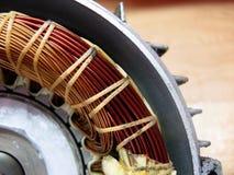 Motor eléctrico, adentro imagen de archivo libre de regalías