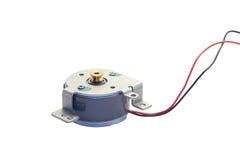 Motor eléctrico de la C.C. Foto de archivo