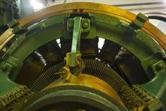 Motor eléctrico grande Fotos de archivo libres de regalías