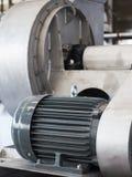 Motor eléctrico industrial Fotos de archivo libres de regalías