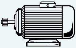 Motor elétrico ilustração stock