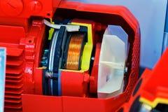 Motor elétrico fotografia de stock royalty free