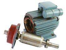 Motor elétrico velho fotos de stock