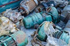 Motor elétrico velho Fotografia de Stock