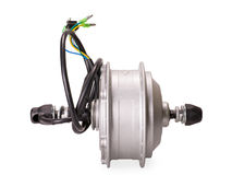 Motor for electric bike Stock Photo