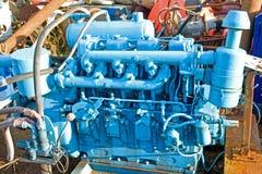 Motor em uma jarda da sucata. Fotografia de Stock