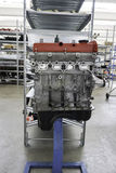 motor en metal en casa de la tienda Foto de archivo