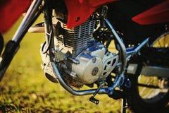 The motor of enduro Stock Photo