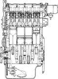 Motor engine Stock Photos