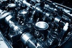 Motor Engine closeup Royalty Free Stock Photos