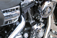 Motorbike engine Stock Images