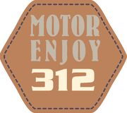 Motor enjoy Royalty Free Stock Image