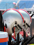 Motor-esportes que competem capacetes Imagem de Stock