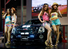 Motor Expo 2010 in Bangkok, Thailand Royalty Free Stock Images