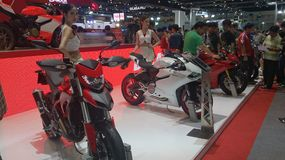 Motor Expo 2014  Thailand Stock Images