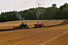 Motor externo de Oliver em uma mostra da exploração agrícola Foto de Stock Royalty Free