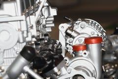 motor för bilbilmotor Arkivbilder