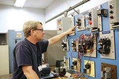 motor för center kontroll fotografering för bildbyråer