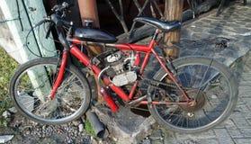 motor för cykelkurshopp Arkivfoton