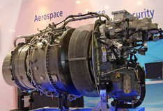 Motor für Hubschrauber âArdidenâ stockfotografie