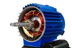 Motor, getrennt auf einem weißen Hintergrund Lizenzfreie Stockfotos