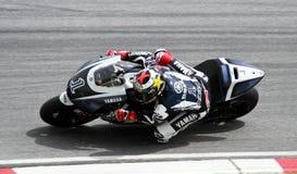 Motor GP 2011 in Sepang Maleisië Stock Afbeelding