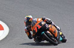 Motor GP Sports at SI. Taking this picture at Sepang International Circuit during Motor GP race royalty free stock image