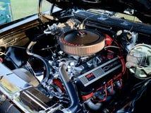 Motor grande del bloque 454 de Chevrolet Foto de archivo libre de regalías