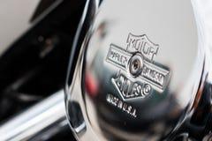 Motor Harley-Davidson Royalty-vrije Stock Afbeeldingen