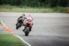 Motor het Rennen Spoor - NN-Ring Stock Foto