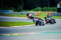 Motor het Rennen Spoor - NN-Ring stock fotografie