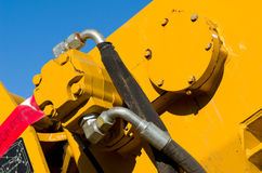 Motor hidráulico Imagens de Stock