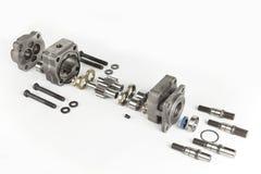Motor hidráulico imagenes de archivo