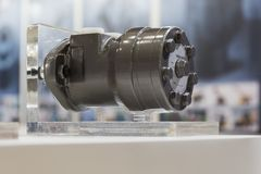 Motor hidráulico radial fotos de archivo