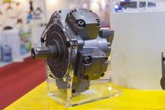Motor hidráulico radial fotografía de archivo