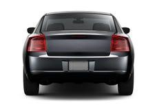 Motor- hinterer Winkel der schwarzen Limousine vektor abbildung