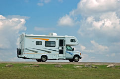 Motor home. Ready to hit the open road Stock Photos
