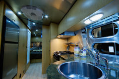 Motor home Stock Image