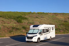 Motor home in France Stock Photography