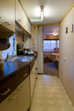 Motor home kitchen Royalty Free Stock Photography