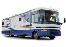 Motor Home RV Royalty Free Stock Photo