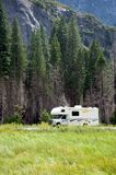 Motor home RV in Yosemite National Park Stock Photos