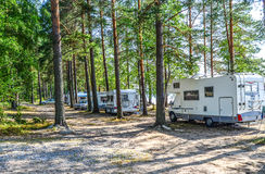 Motor homes Royalty Free Stock Photos