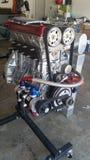 Motor Honda för hög kapacitet Fotografering för Bildbyråer