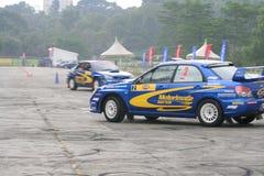 Motor Image Rally Team Showcase at Turf City Stock Photo