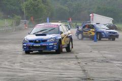 Motor Image Rally Team Showcase at Turf City Royalty Free Stock Photos
