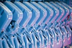 Motor industrial Foto de archivo libre de regalías