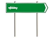 Motor insurance sign Stock Image