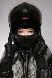 Motor-lady Stock Photos